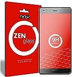 ZenGlass [2 Stück Flexible Glas-Folie kompatibel mit Huawei P8 Lite Panzerfolie I Bildschirm-Schutzfolie 9H I (Kleiner Als Das Gewölbte Bildschirm)