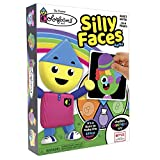 Colorforms Juego de caras tontas - Diversión familiar con actividad clásica - A partir de 3 años