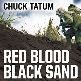 Red Blood, Black Sand audiobook cover art