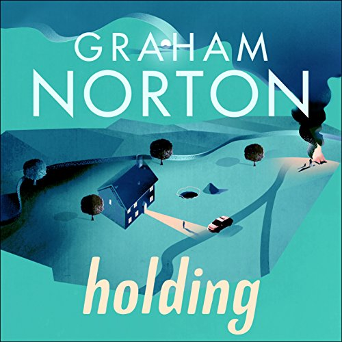 Holding audiobook cover art