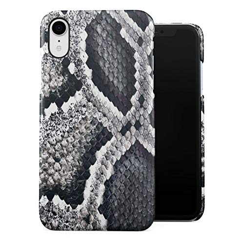 Black Animal Fur Pattern Dünne Handy Schutzhülle Hardcase Aus Hartplastik Hülle Kompatibel mit iPhone Xr Handyhülle Case Cover