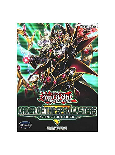 Konami Yu-Gi-Oh Order of The Spellcasters Structure Deck Deutsch