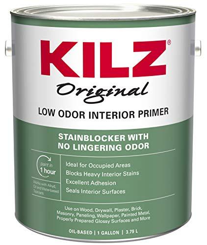 KILZ Odorless Interior Oil-Base Primer/Sealer/Stainblocker,...