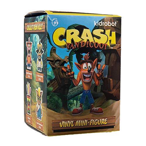 Kidrobot Crash Bandicoot Vinyl Mini Figures 8 cm Display (24)