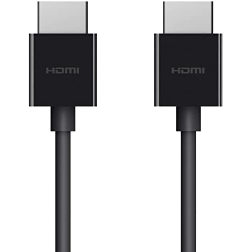Belkin Ultra HD High Speed HDMI Cable, Optimal Viewing for Apple TV and Apple TV 4K, Dolby Vision HDR, 2 M/6.ft – Black