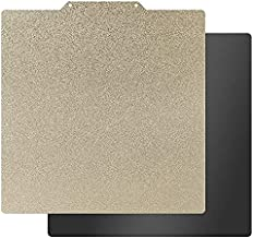 HICTOP Flexible Steel Platform with PEI Surface and Magnetic Bottom Sheet with Adhesive 310x310mm(12.2x12.2inch) for CR-10, CR-10S and Other Same Sized 3D Printers