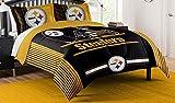 NFL Pittsburgh Steelers Full Comforter and Sham Set, Full/Queen