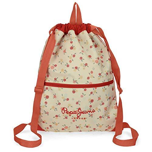 La mejor mochila de saco de niña: Pepe Jeans Joseline