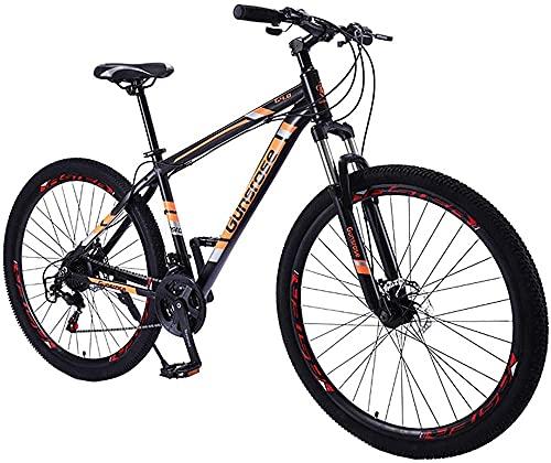 Mountain Bike 21 velocità 29 Pollici in Lega di Alluminio in Lega di Montagna in Lega di Montagna, Ridurre Il Tempo del Pendolo per La Scuola E Il Lavoro,Arancia