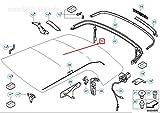 GTV PROJECT 54342758080 Serrure Rabattable sur Le Dessus pour Cooper Convertible F57