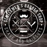 wukongsun Gentleman des Mannes Friseurladen Aufkleber Haarschnitt Haarschneider Rasiermesser Plakat...