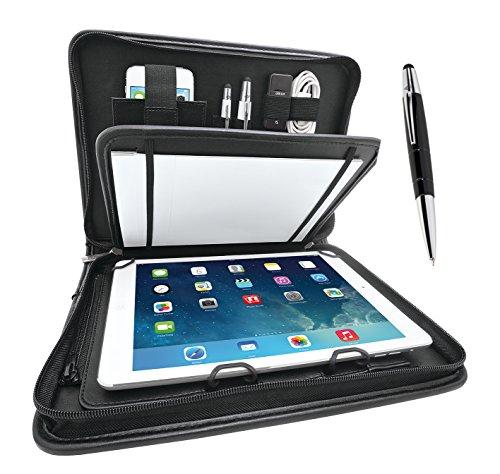 WEDO 0587590101 Tablet Organizer Universale con Penna Stilo, Nero