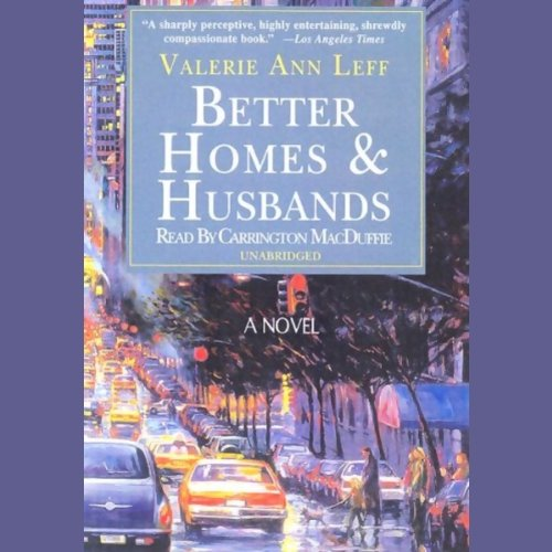 Better Homes and Husbands  audiobook cover art