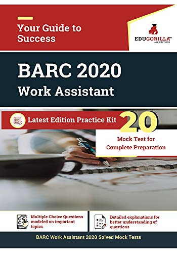 BARC Work Assistant 2020 | 20 Mock Test | Lastest Practice Kit (English) (English Edition)