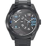 All Blacks - 680223 - Montre Homme - Quartz Analogique - Cadran Noir - Bracelet Plastique Noir