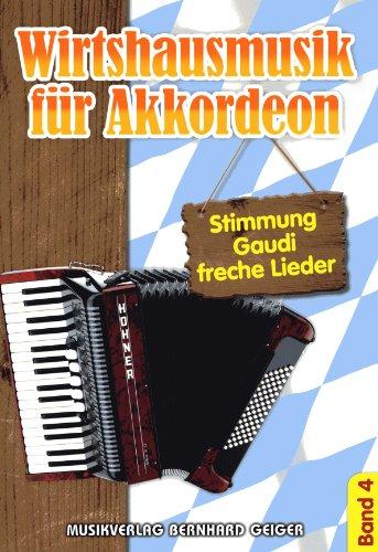 Wirtshausmusik für Akkordeon - Band 4
