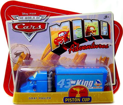 Disney CARS Mini Adventures Piston Cup Gray Hauler