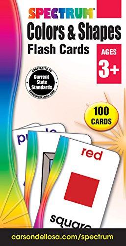 Colors & Shapes Flash Cards (Spectrum Flash Cards)