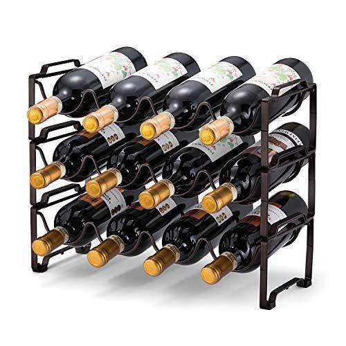 Simple Trending 3-Tier Stackable Wine Rack