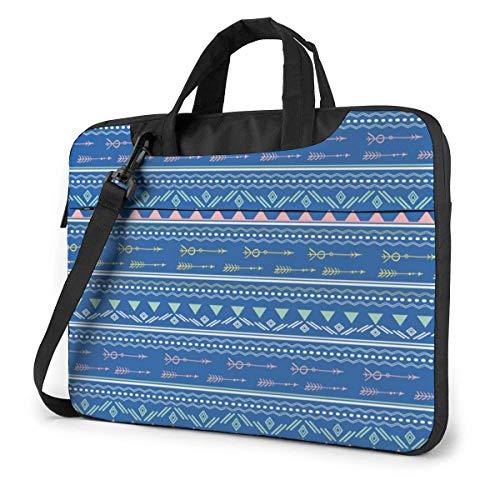 Ethnic Pattern (5) Laptop Sleeve Case Computer Tote Bag Shoulder Messenger Briefcase for Business Travel