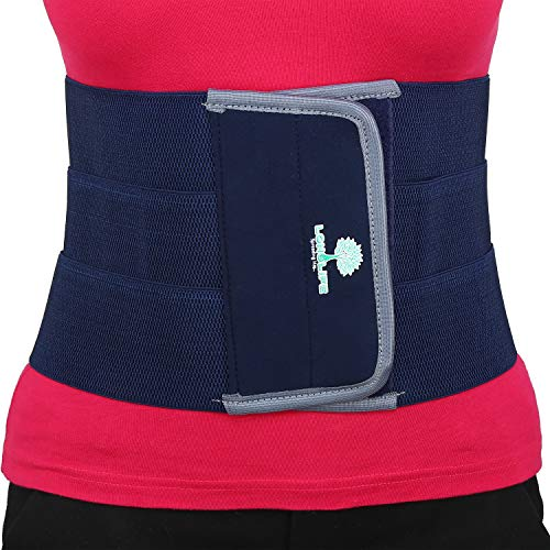 Longlife abdominal belt after delivery for tummy reduction (Abdominal Belt Large)(34-38) Inch