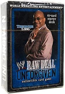 WWE Raw Deal Unforgiven Starter Deck Theodore Long [Toy]