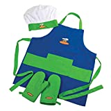 4-Piece Child Chef Set for Girl or Boy