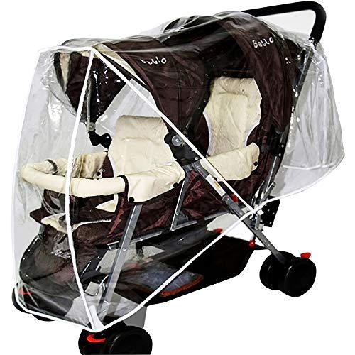 Cochecito de bebé impermeable cubierta de lluvia bebé empuje lluvia silla impermeable universal cubierta de lluvia