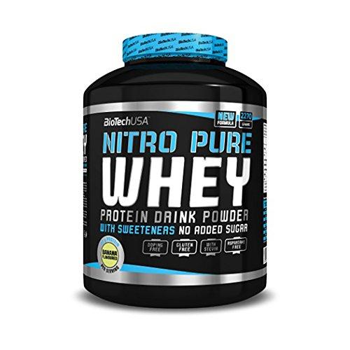 Biotech USA Nitro Pure Whey Schokolade, 1er Pack (1 x 2.27 kg)