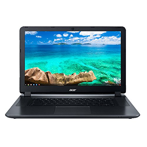 Acer Flagship CB3-532 15.6inch HD Premium Chromebook - Intel Dual-Core Celeron N3060 up to 2.48GH.z, 2GB RAM, 16GB SSD, Wireless AC, HDMI, USB 3.0, Webcam, Chrome OS (Renewed)