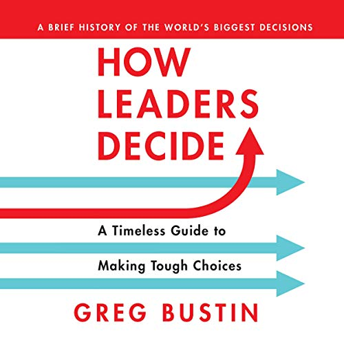 How Leaders Decide audiobook cover art