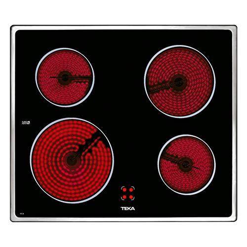 Teka VTC B Negro Integrado Cerámico - Placa (Negro, Integrado, Cerámico, 6300 W, 230 V, 50 - 60 Hz)