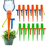 【New Upgrade】Plant Self Watering Spikes,Universal Self Watering Devices With Slow Release Control Valve Switch Plant System Suitable for All Bottle,Automatic Vacation Drip Irrigation Watering-Non-stop