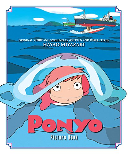 PONYO ON THE CLIFF PICTURE BOOK HC (Ponyo Picture Book)