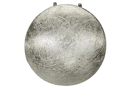 SILBERMOOS Anhänger Knopf Kugel Kreis Scheibe rund gebürstet 925 Sterling Silber/Kette optional
