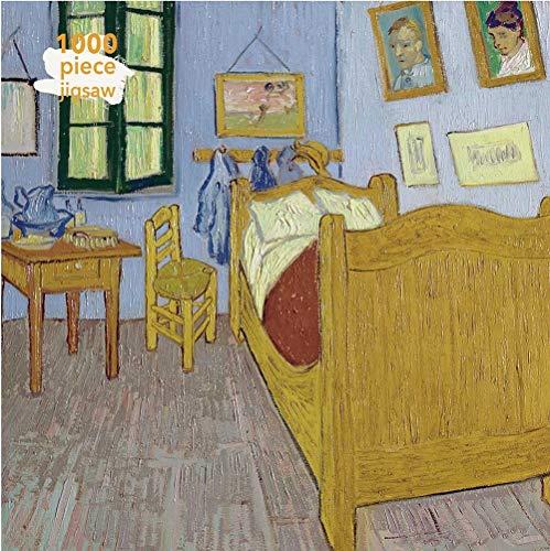Adult Jigsaw Vincent Van Gogh: Bedroom at Arles: 1000 Piece Jigsaw (1000-piece Jigsaws): 1000-piece Jigsaw Puzzles