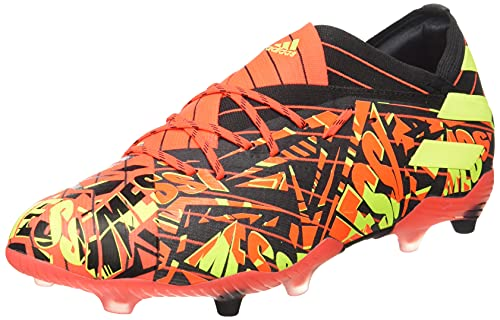 adidas Nemeziz Messi .1 FG J, Zapatillas de fútbol, Rojsol/Amasol/NEGBÁS, 36 2/3 EU