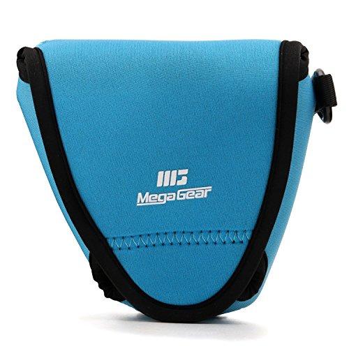 MegaGear MG1335 - Funda de Neopreno con mosquetón para cámara Fujifilm X-E3, Color Azul