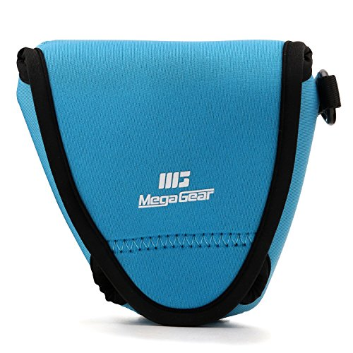 MegaGear MG1335 Estuche para cámara fotográfica Carcasa compacta Azul - Funda (Carcasa compacta, Fujifilm, X-E3 (23mm & 18-55mm), Azul)