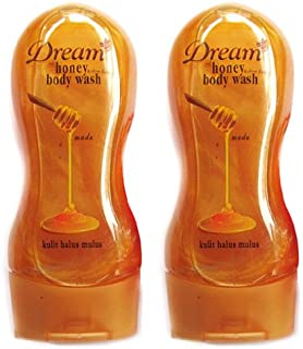 Dream(ドリーム) ハニー&シアバター ボディウォッシュ250ml 2本セット [並行輸入品][海外直送品]