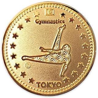 "Tokyo Sports Gold Medals""GYMNASTICS"" 東京 スポーツ ゴールド オリジナルコイン""体操"" 記念メダル"