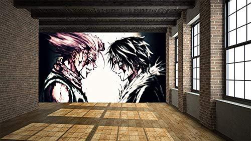 Hunter×Hunter Anime Fototapete Tapete Fototapeten Vlies Tapeten Wandtapete Vlies Moderne Wandbild Wand Schlafzimmer Wohnzimmer 3D Effekt Mural Wallpaper 200x140cm
