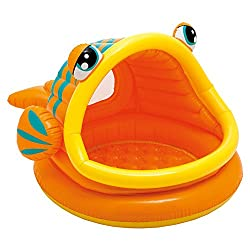 Intex Babypool Lazy Fish Shade Baby Pool