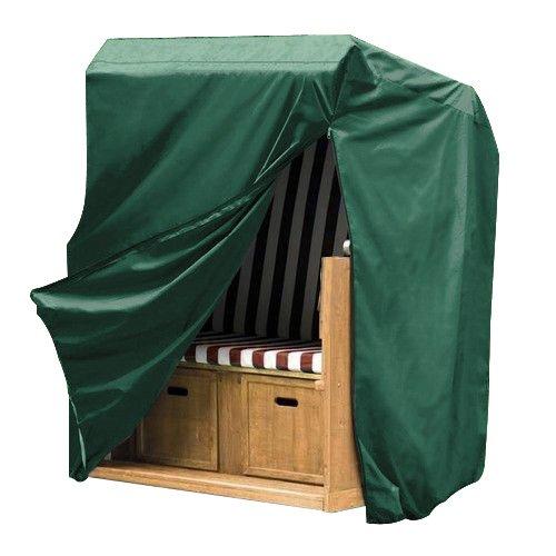 WOLTU GZ1200gn Housse de Protection pour Chaise de Plage 175/140x135x105 cm, Vert