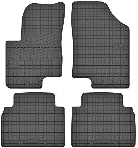 Motohobby Gummimatten Gummi Fußmatten Satz für Hyundai ix20 (2010-2018) / Kia Venga (2010-2018) - Passgenau
