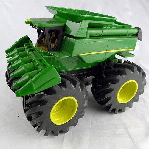 WANGCH 1:32 Ingeniería Vehículo Monster Bigfoot Ocho Tractor Vehículo agrícola Modelo de simulación de Alta precisión Modelo de colección de Gama Alta Juguetes de cumpleaños