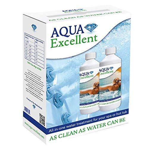 Aqua Kristal Wasserpflege, Nachfüllpack, 2 x 1Liter