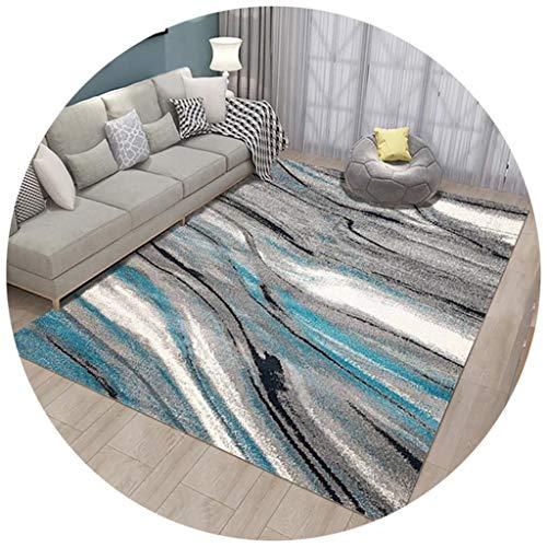 RUG NNIU vierkant tapijt, korte stapel, antislip, groot tapijt voor de woonkamer, slaapkamer, salontafel, mat bed, blanket, 8 mm