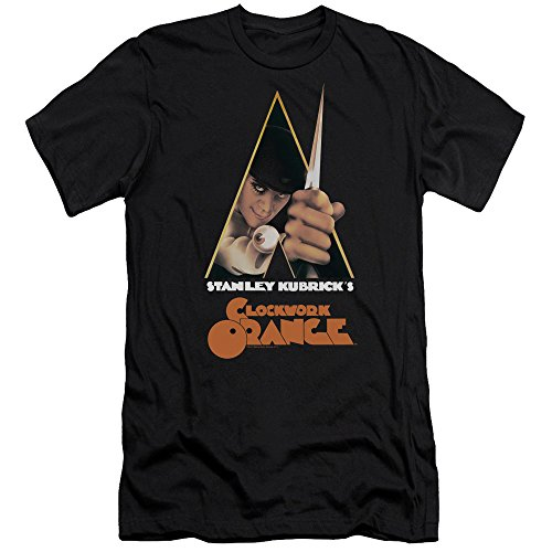 Trevco A Clockwork Orange/Poster Art Slim Fit T-Shirt Size M