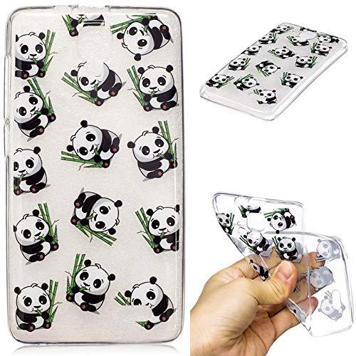 YYhin Phone Case for Lenovo A536,Anti-Scratch Anti-Slip Ultra-Thin Slim Fit Cartoon Stylish Pattern soft TPU Silicone Cover(Panda)